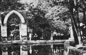 Зеркальный пруд 1939 г 2