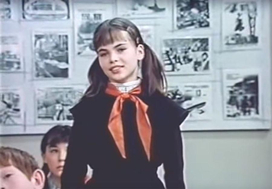 Первая роль в кино Натальи Гусевой советское кино