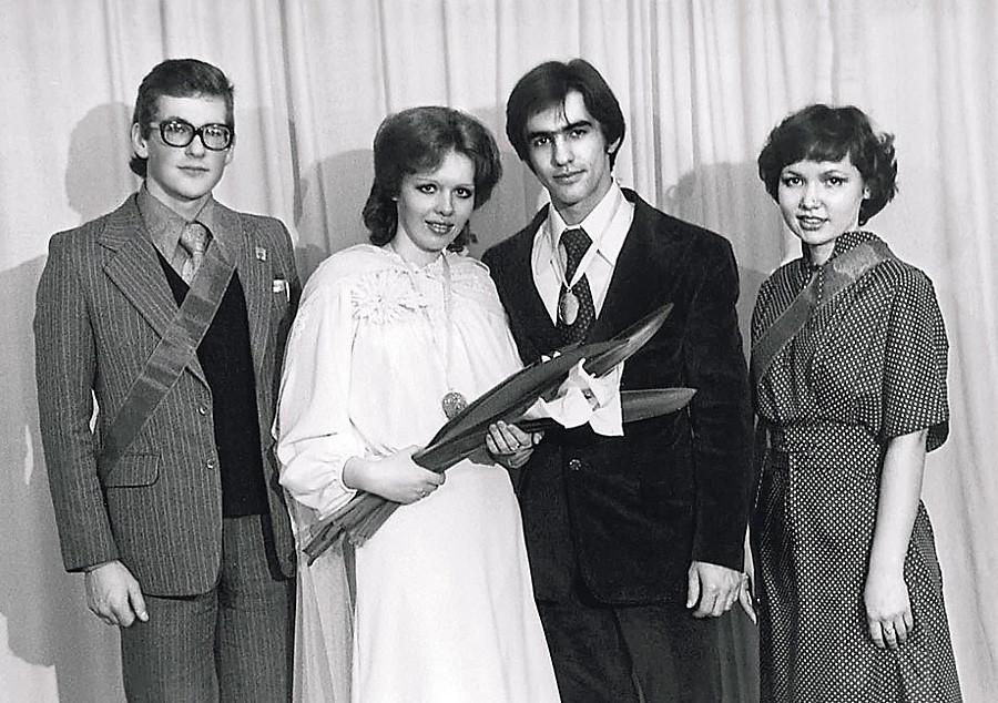 Свадебные фото советских рок музыкантов
