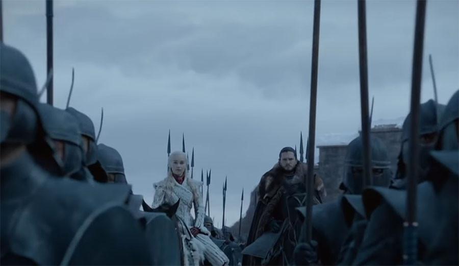 Первый трейлер 8 сезона Игры престолов