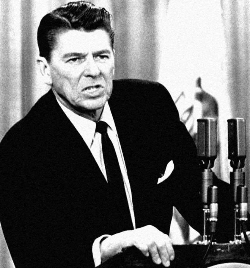 025 Губернатор  Калифорнии  Р. Рейган,  1967