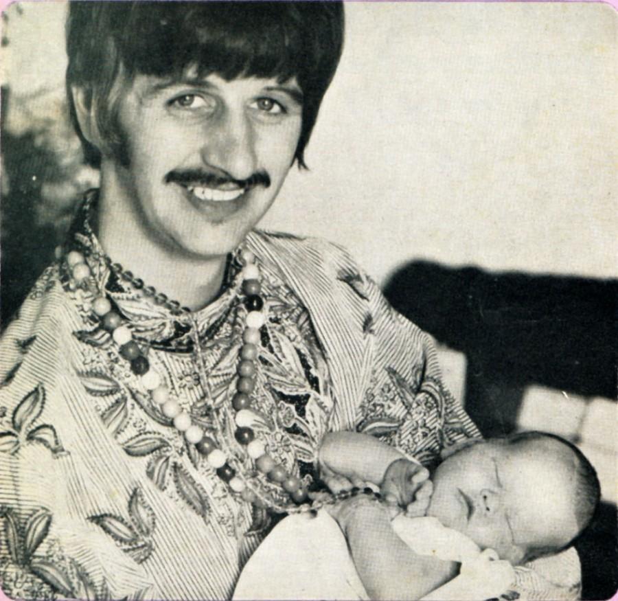 009 Ринго Старр с сыном, 1967