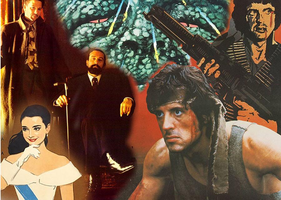 Советские афиши голливудских фильмов