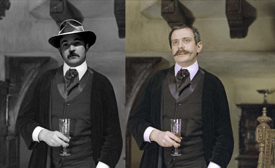 Вырезанная сцена из Приключений Шерлока Холмса и доктора Ватсона