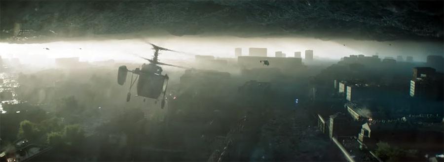 Вторжение - новая российская фантастика от Фёдора Бондарчука
