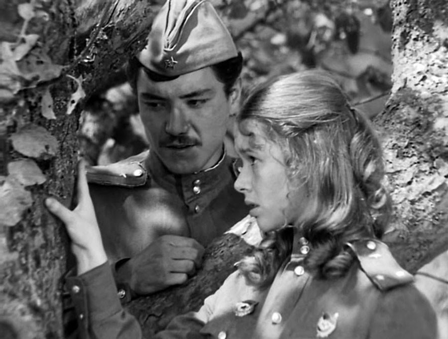 Первая роль в кино Евгении Симоновой