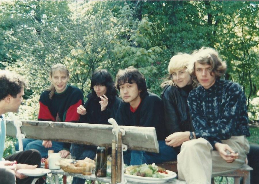 Редкие и интересные фото российских рок музыкантов. Виктор Цой
