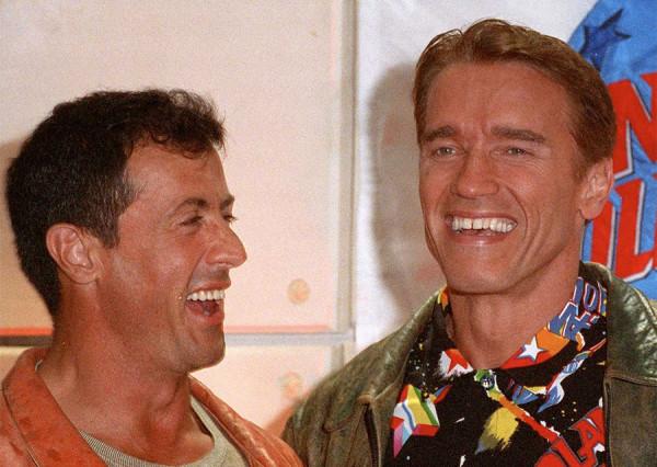Арни и Слай. А была ли война между двумя легендами боевиков 80-х