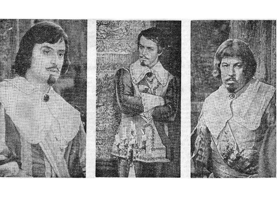 Другие три мушкетёра советского кино