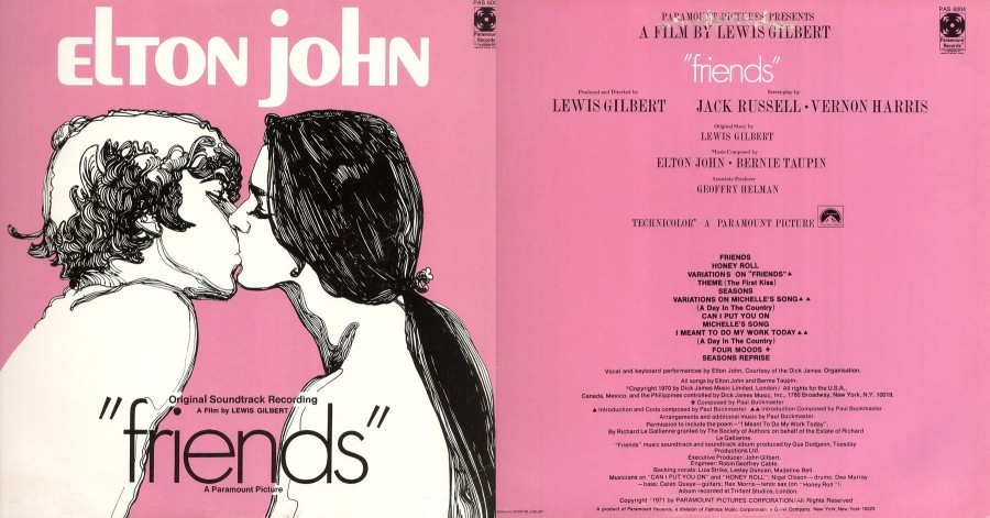 006 Elton John --- Friends --- Soundtrack