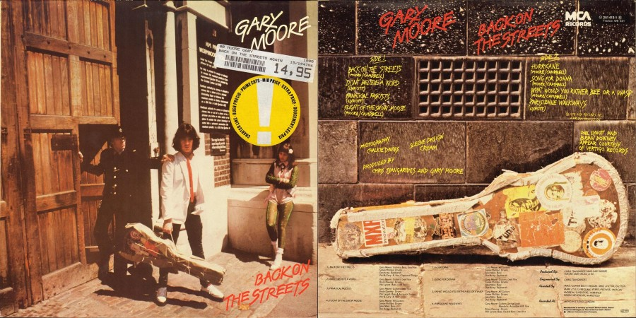 008 Gary Moore --- Back On The Streets - (1978)