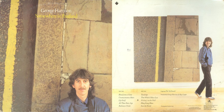 010 George Harrison -–- Somewhere In England - (1981)