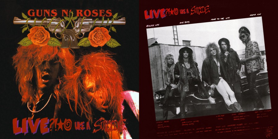 011 Guns N Rose s--- Live Like A Suicide - (1986)