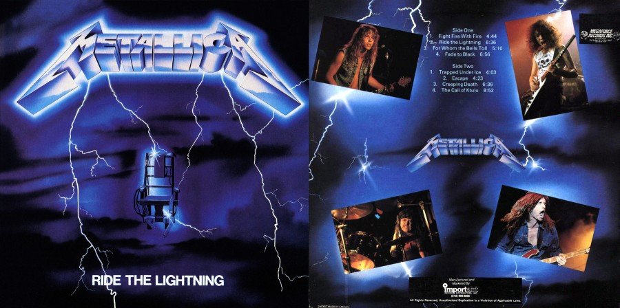 013 Metallica - Ride The Lightning [1984]
