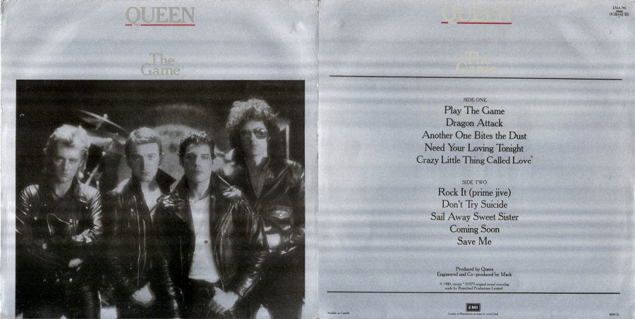 018 Queen - The Game [1980]