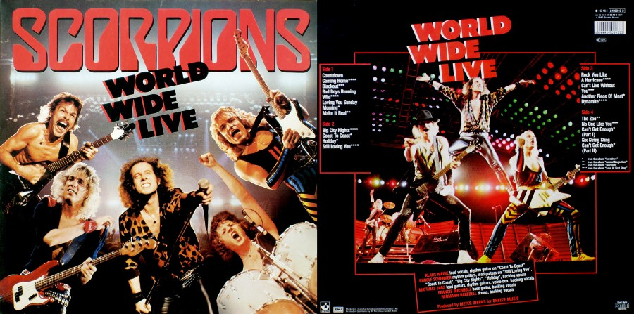 019 Scorpions - World Wide Live [1985]