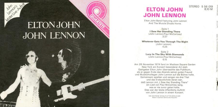 022 Elton John-John Lennon---I Saw Her Standing There