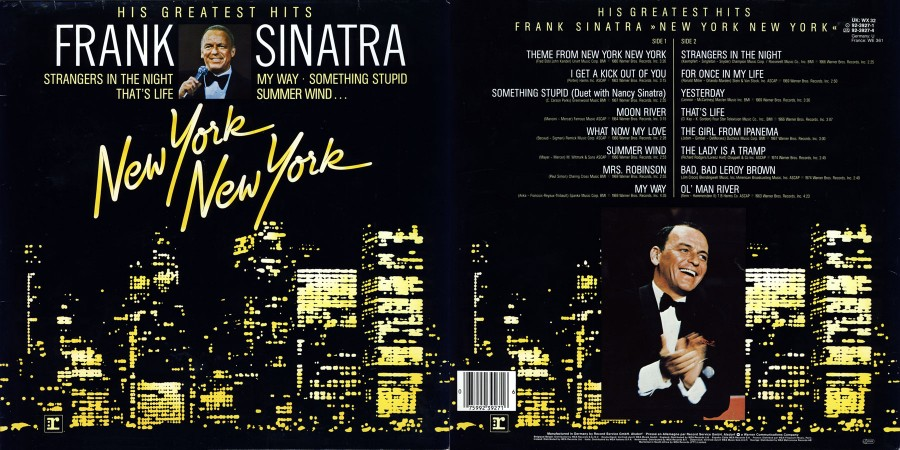 023 Frank Sinatra---New York New York His Greatest Hits---1983