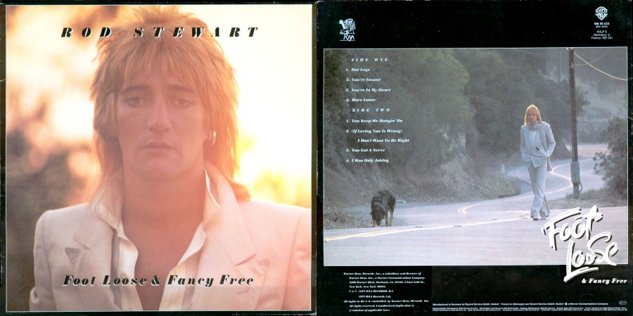 029 Rod-Stewart---Foot loose--Fancy Free 1977