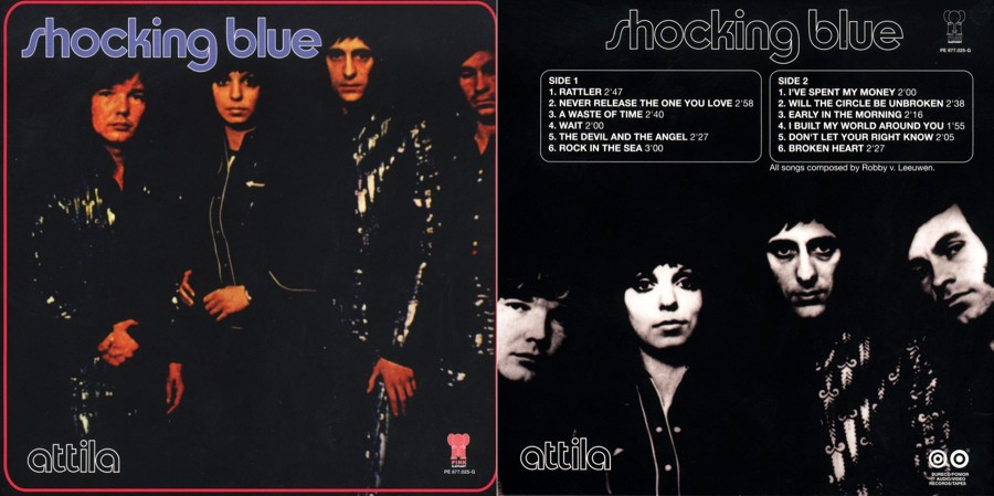 031 Shocking Blue - Attila (1972)