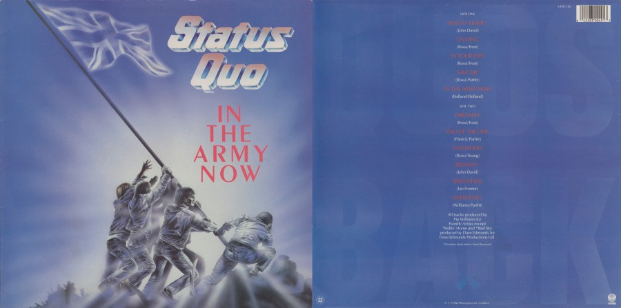 033 Status Quo---In the army now (1986)