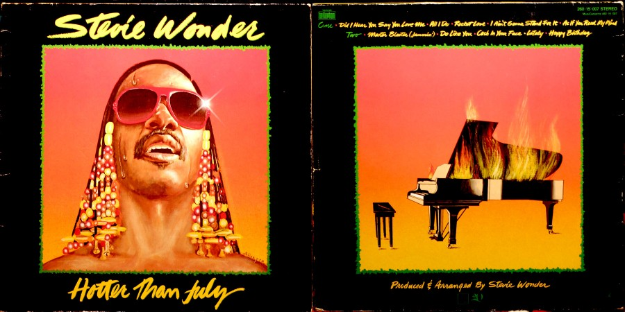 034 Stevie Wonder---Hotter Than July (1980)