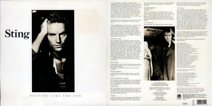 035 Sting---Nothing Like The Sun (1987)