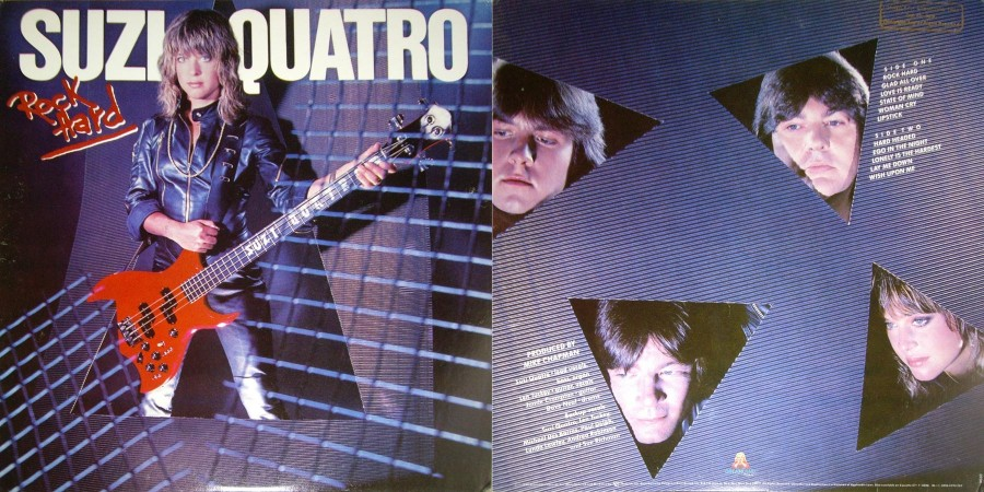 036 Suzi Quatro---Rock Hard (Dreamland, USA) [1980]