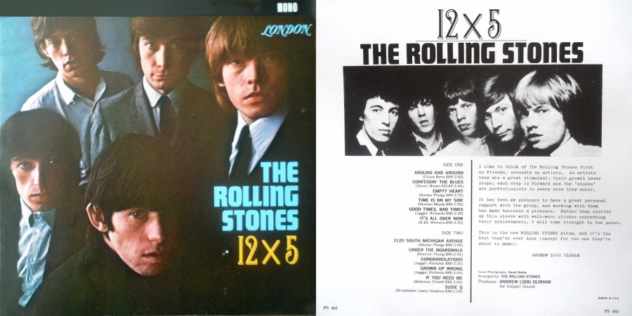 037 The Rolling Stones 12х5 (1964)