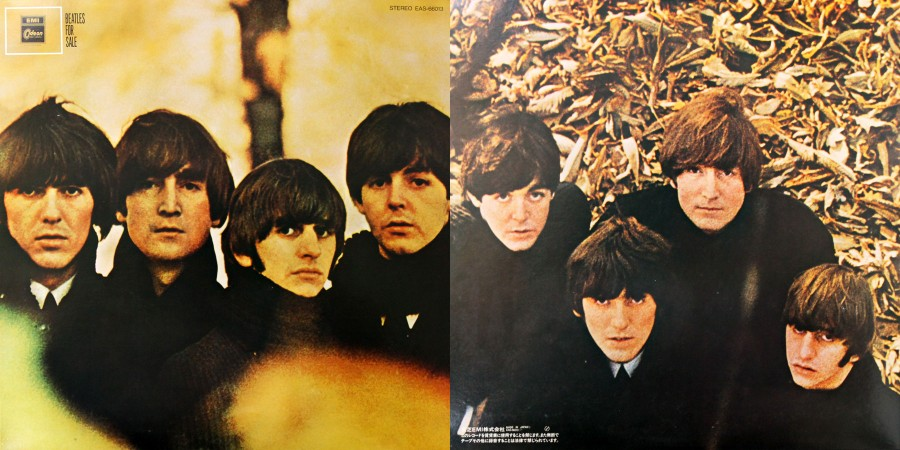 041 The Beatles---Beatles For Sale (1964, Japanese Reissue 1982)