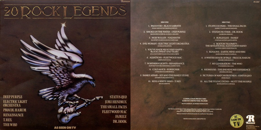 042 20 Rock Legends - 1979