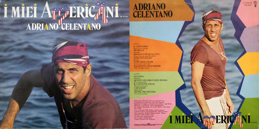043 Adriano Celentano---I Mie Americani (Tre Puntini)-(1984)