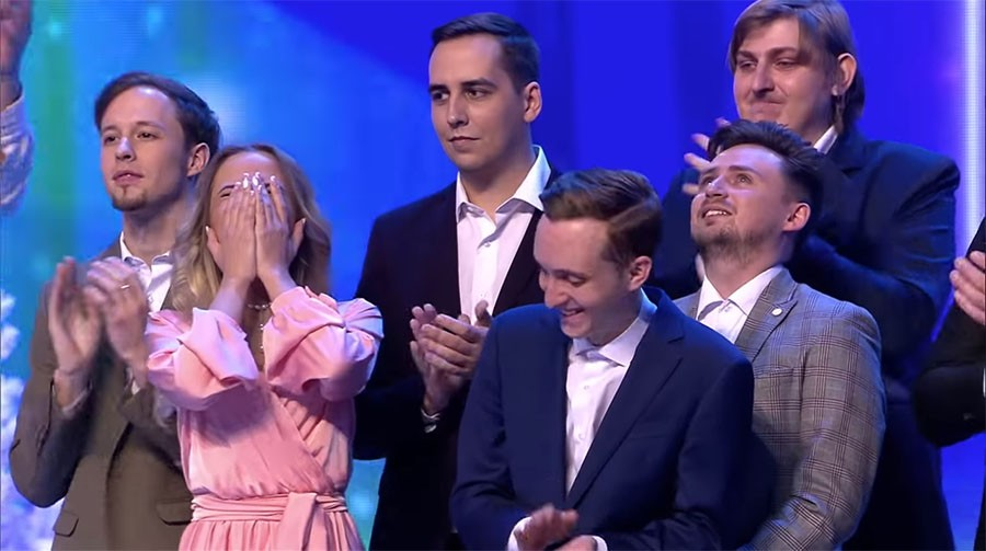 Прецедент в финале КВН - победителя выбрали зрители