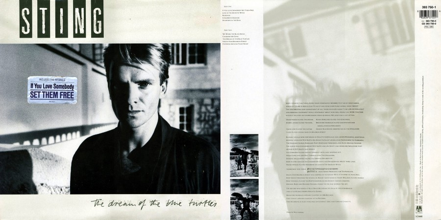 052 Sting---The Dream Of The Blue Turtles (1985)