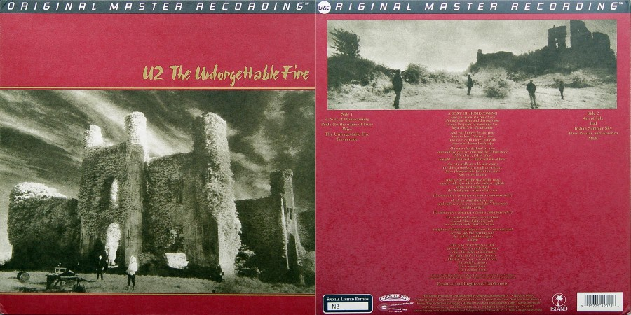 055 U2---The Unforgettable Fire [1984]