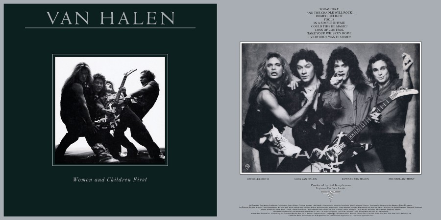 058 Van Halen - Women and Children First [1980]