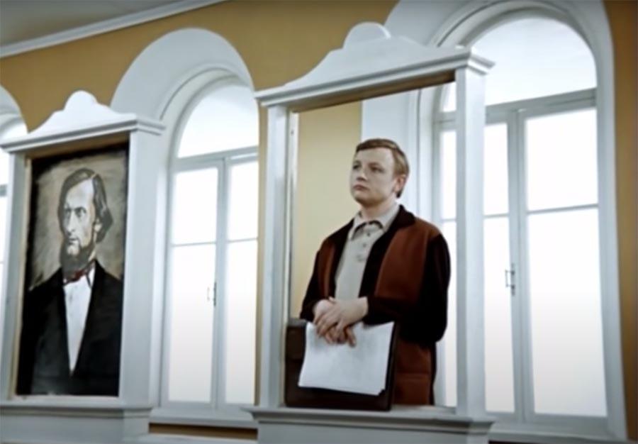 Нестор Петрович из «Большой перемены» советское кино,персонажи советского кино,кино