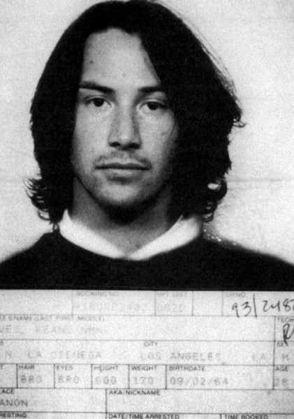 Киану Ривз (Keanu Reeves) - 1993 (вождение в нетрезвом виде)