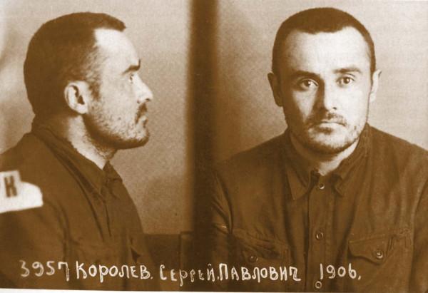 СП. Королев в Бутырской тюрьме после возвращения с Колымы. 29 февраля 1940 г.