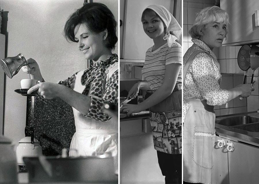 Редкие фото любимых советских актрис в домашней обстановке фото из СССР,знаменитости,малоизвестные фото,Знаменитости,из домашних архивов