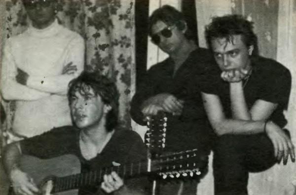 Малоизвестные фото российских рок музыкантов. Часть 6