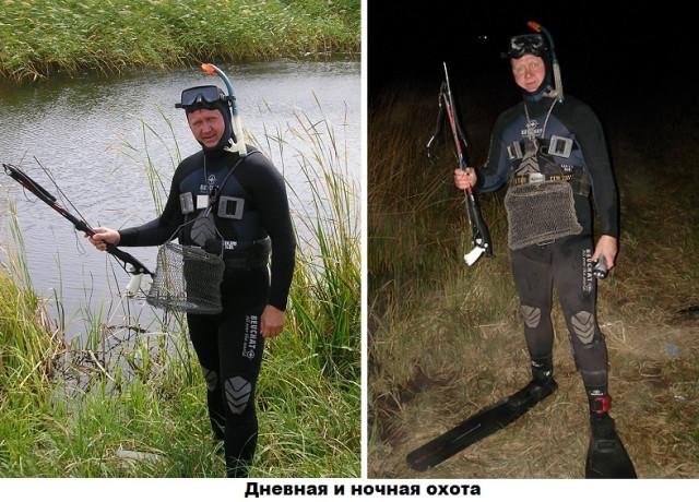 Андрей Злоказов на рыбалке