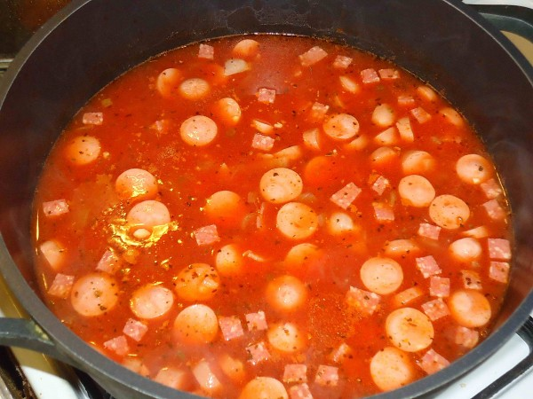 Томатный суп 5