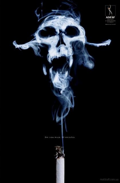 Здоровье курение постеры рак смерть