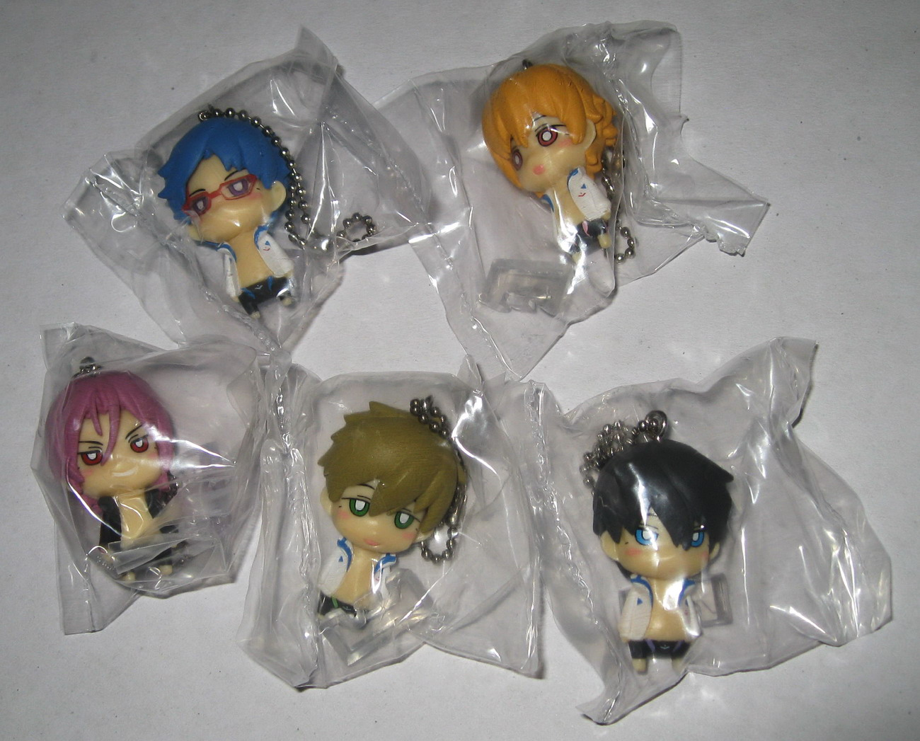 Free! Deformed Figure collection