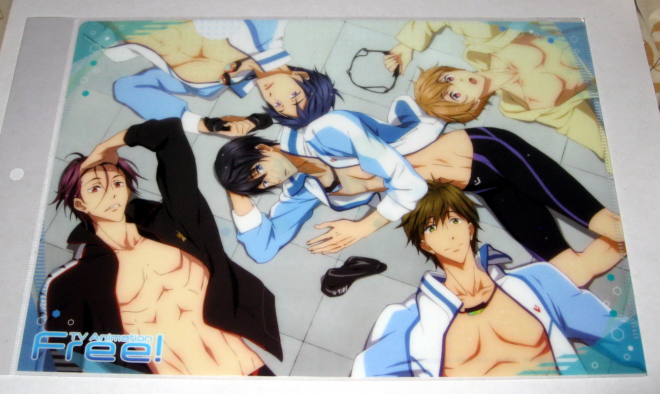 Free! Clear File - 1402 B - Rest