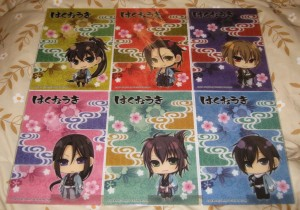 Hakuouki - Chibi pencil boards 2009