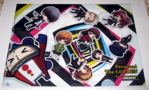 Clear file - 0413 Persona 4 Golden - Female version Group B