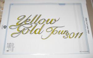 Akanishi Jin - Yellow Gold Tour CF_back