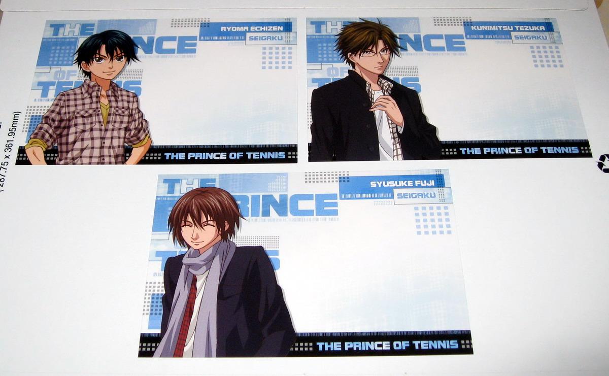 SN Postcards - Seigaku_front